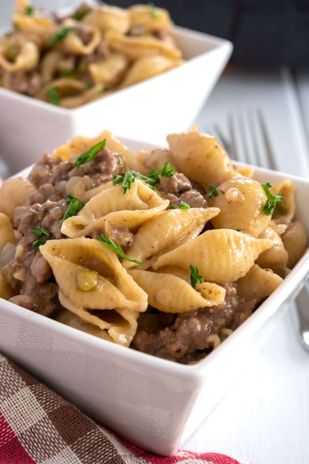 Philly Cheesesteak Pasta Pic