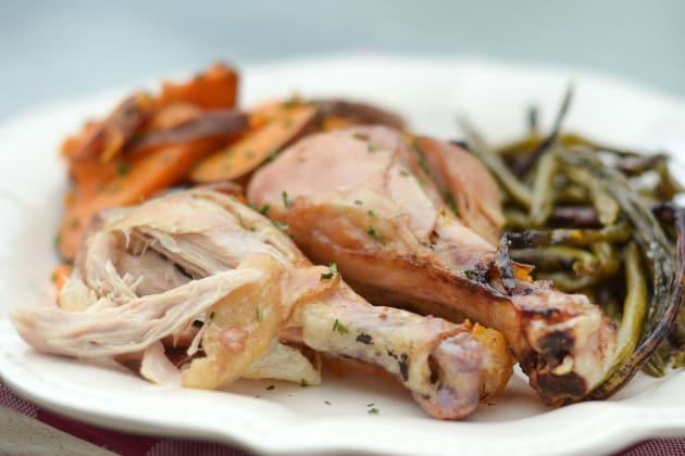 Sheet Pan Rosemary Chicken Photo