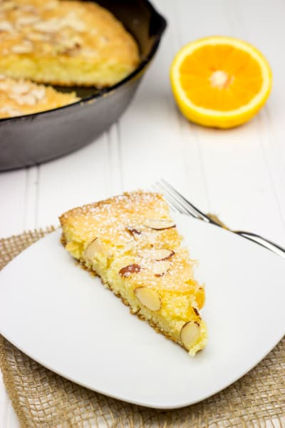 Almond Skillet Cake Picture