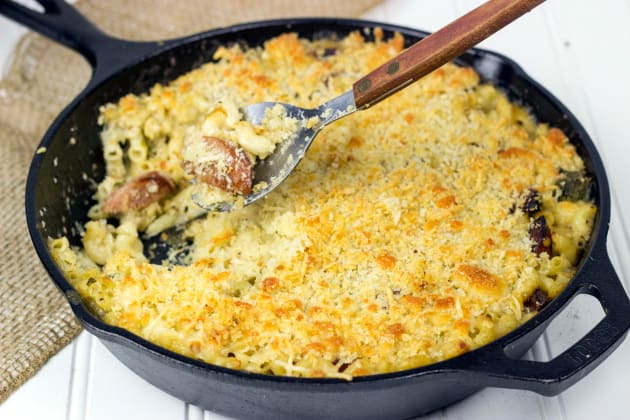 Roasted Poblano Mac & Cheese Photo