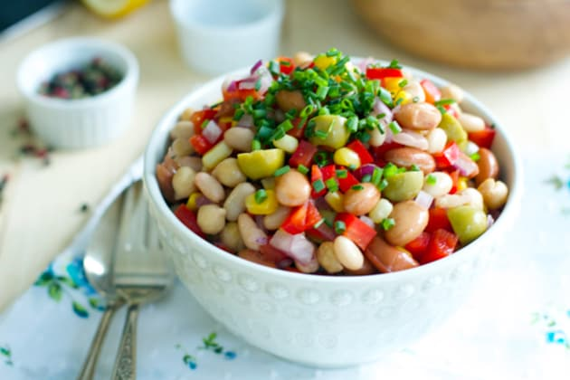 Easy Bean Salad Photo