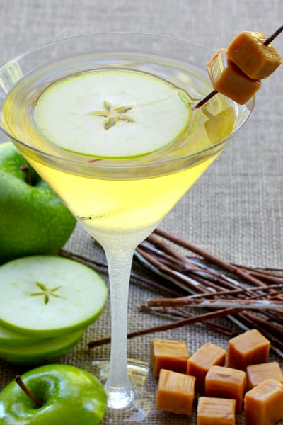 Caramel Apple Martini Picture
