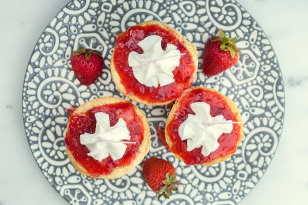 Strawberry Tres Leches Cupcakes Photo