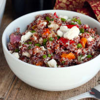 Roasted Vegetable Quinoa Salad Recipe