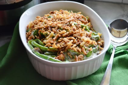 Instant Pot Green Bean Casserole Recipe