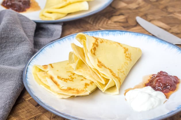 Russian Crepes Photo