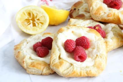Lemon Raspberry Danish Recipe