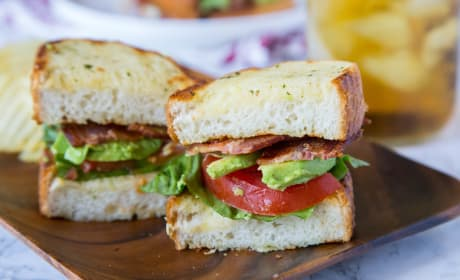 Garlic Bread BLT Photo