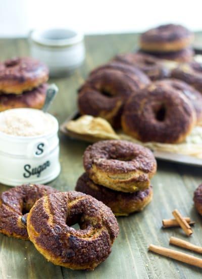 Panera Bread Cinnamon Crunch Bagels Picture