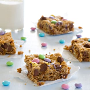 Monster cookie bars photo