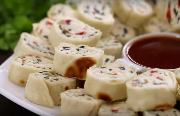Tasty Tortilla Pinwheels