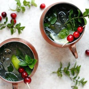 Cranberry mule photo