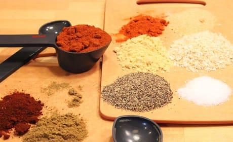 Smoked Ribs Spice Rub Photo