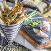 Herb & Garlic Oven Fries Recipe