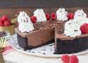 No-Bake Chocolate Raspberry Cheesecake