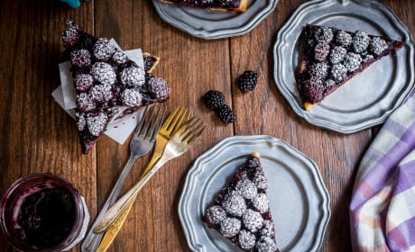 Bourbon Blackberry Jam Bars Image