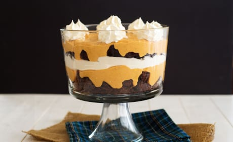 Pumpkin Brownie Trifle Recipe