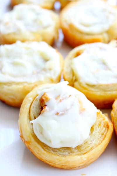 Apple Pie Cinnamon Rolls Image