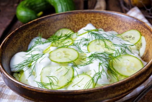 German Cucumber Salad Photo