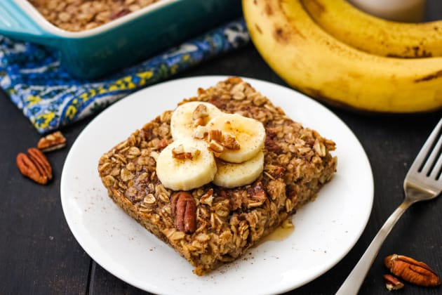 Toaster Oven Baked Oatmeal Photo