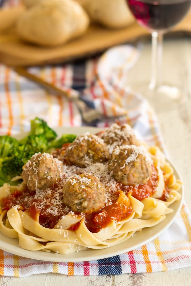 Gluten Free Baked Turkey Meatballs Picture