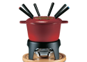 Swissmar Sierra 11 piece Cast Iron Fondue Set - Cherry Red Review
