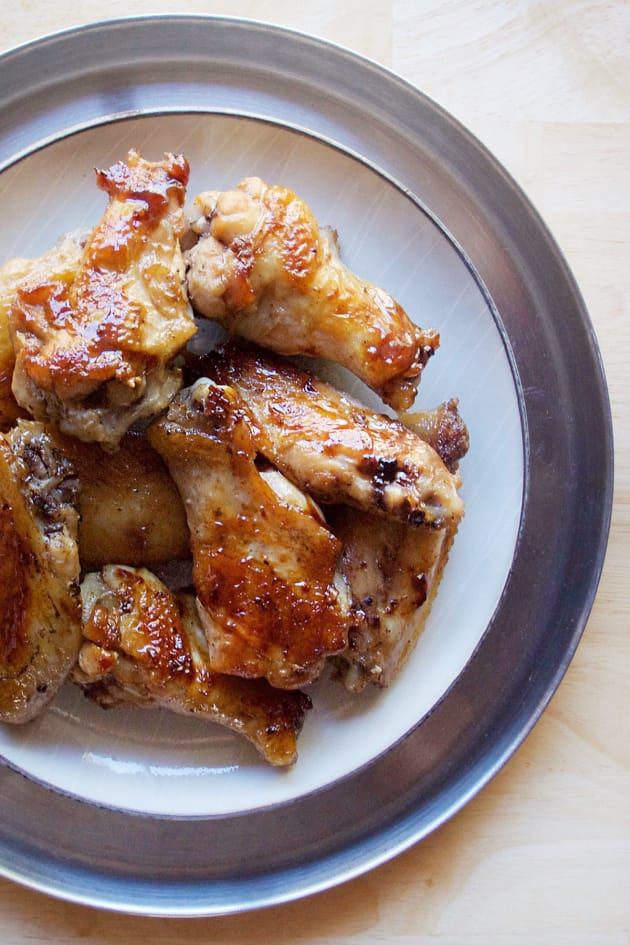 Garlic Ginger Chicken Wings Picture