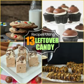 13 Sweet Treats Made With Leftover Halloween Candy