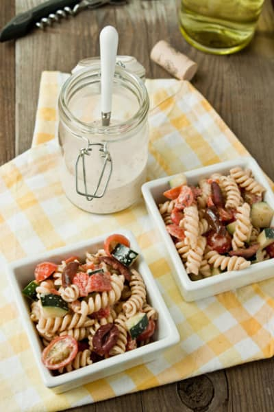 Greek Pasta Salad Image