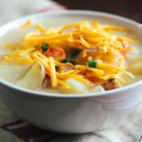 Cheddar Potato Soup Recipe