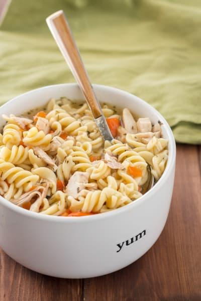 Instant Pot Gluten Free Chicken Noodle Soup Image