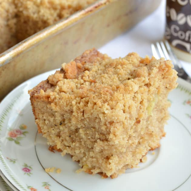 Brown Butter Banana Coffee Cake Pic