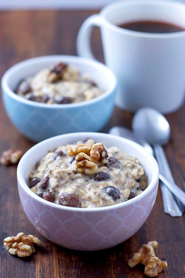Gluten Free Oatmeal Raisin Overnight Oats Picture