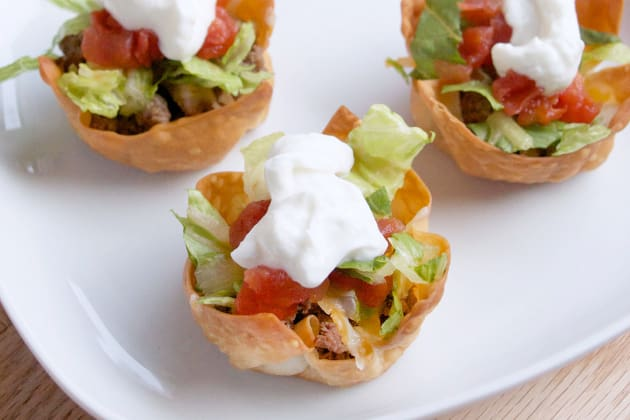 Taco Salad Cups Photo