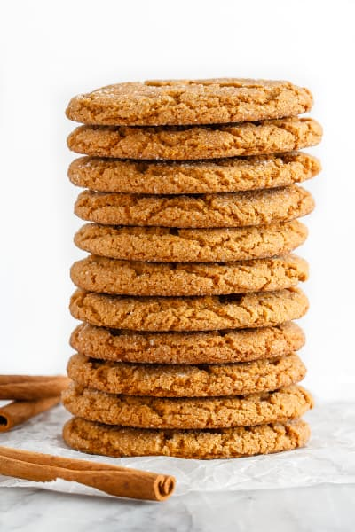 Soft and Chewy Ginger Cookies Image