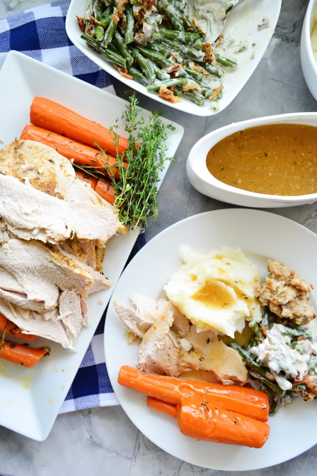 Instant Pot Turkey Breast with Carrots and Homemade Gravy Picture