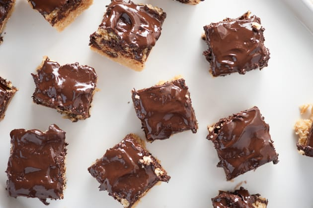 Dark Chocolate Ritz Bars Image