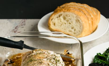 Roasted Pork Loin with Rosemary and Garlic Picture