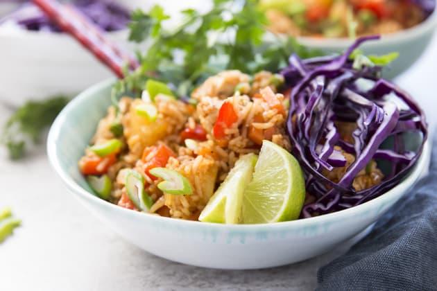 Hawaiian BBQ Chicken Fried Rice Photo