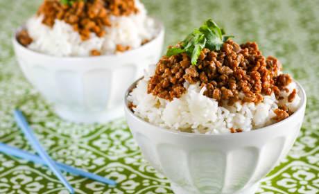 Gluten Free Korean Turkey and Rice Bowl Recipe