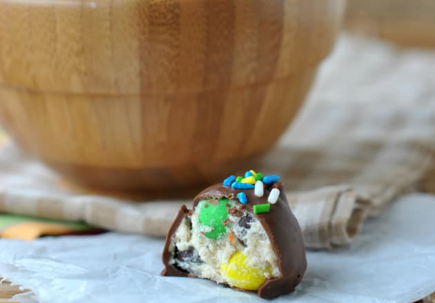 Monster Cookie Dough Truffles Photo