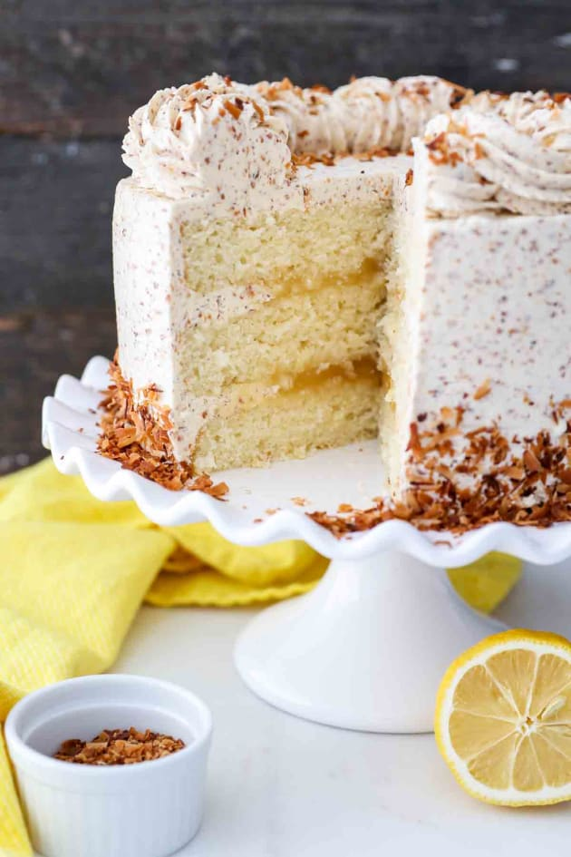 Lemon Coconut Cake Picture