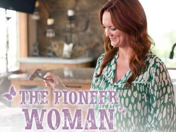 Ree as The Pioneer Woman