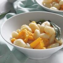 Pumpkin Gnocchi with Sage Butter Sauce Recipe