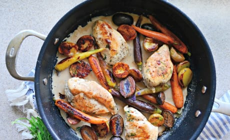 One Pot Chicken Vegetable Skillet Recipe