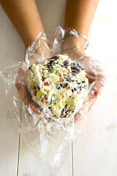 Blue Cheese Cranberry Cheese Ball Pic