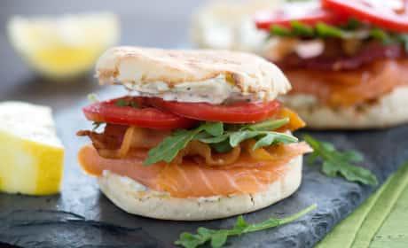 Smoked Salmon BLT Recipe