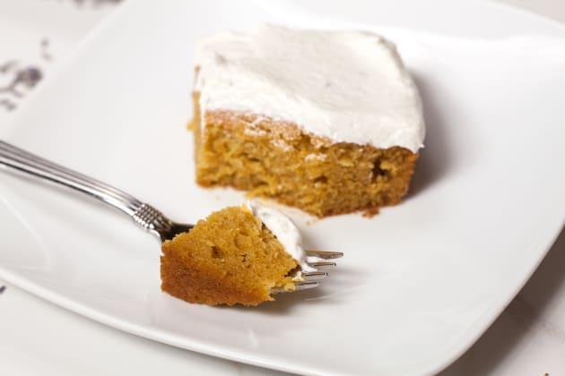 Pumpkin Sheet Cake Pics