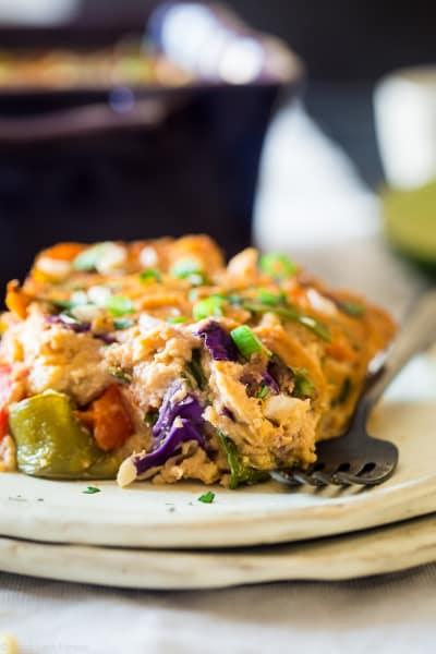 Thai Chicken Cauliflower Casserole Image