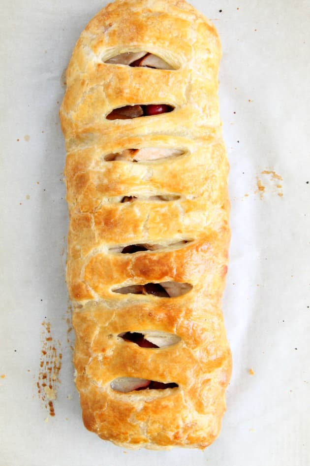 Cranberry Pear Strudel Image